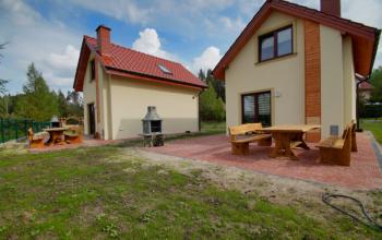 Zielony domek w Kruklankach