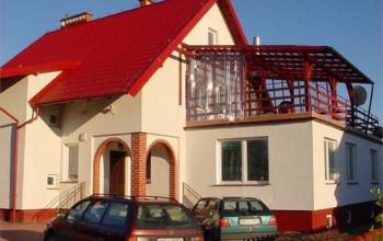Pokoje nad jeziorem Brożówka